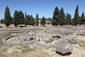 Ruins of Roman City Italica. Spain Royalty Free Stock Photos