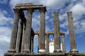 Ruins roman empire evora Royalty Free Stock Photos