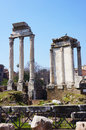 Ruins of the Roman forum Royalty Free Stock Images