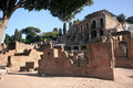 Ruins of Rome Stock Image