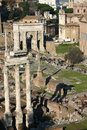 Ruins in Rome Stock Photography