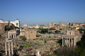 Ruins in Rome Royalty Free Stock Photography