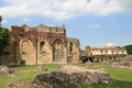 Ruins of st augustine s abbey a benedictine monastery in canterbury kent england Stock Photo