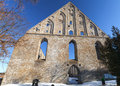 Ruins of st brigitta convent in pirita region tallinn estonia Stock Photography