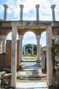 Ruins St. Jean Church Royalty Free Stock Photos