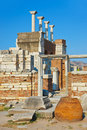 Ruins of st. Johns Basilica at Selcuk Turkey Royalty Free Stock Image