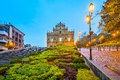 The Ruins of St. Paul's in Macau Royalty Free Stock Photo