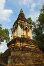 The ruins of the temple in history park, Sukhothai Stock Photos