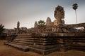 Ruins of the temples, Angkor, Cambodia Royalty Free Stock Photos