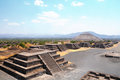 Ruins of Teotihuacan City, Mexico Royalty Free Stock Photography