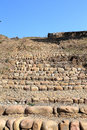 The ruins of tujia chieftain city in china hunan province ancient capital sijhou toast dynasty Stock Photo