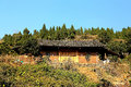 The ruins of tujia chieftain city in china hunan province ancient capital sijhou toast dynasty Stock Images