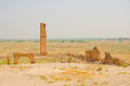Ruins of the University at Harran, Turkey Stock Image