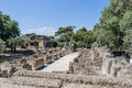 Ruins of Villa Adriana near Rome, Italy Stock Photography