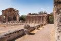 Ruins of Villa Adriana near Rome, Italy Royalty Free Stock Image