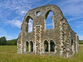 Ruins of Waverley Abbey, Surrey, England Royalty Free Stock Images