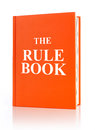 The rule book Royalty Free Stock Photo