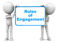 Rules of engagement Royalty Free Stock Photo