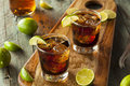 Rum and Cola Cuba Libre Royalty Free Stock Photo