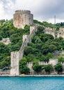 Rumeli Castle Royalty Free Stock Photo