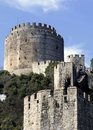 Rumeli castle, istanbul Royalty Free Stock Photo