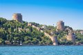 Rumeli fortress in springtime istanbul turkey Stock Photo