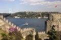 Rumelian Castle (Rumeli hisari),Istanbul Royalty Free Stock Photo