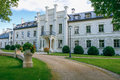 Rumene manor in Latvia. 2017 Royalty Free Stock Photo