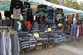 Rummage sale in town great annual sable sur sarthe france september Royalty Free Stock Photos