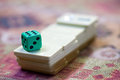 Rummy squares game a turkish traditional fun need people to play Royalty Free Stock Photography