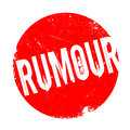Rumour rubber stamp Royalty Free Stock Photo