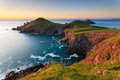 Rumps point cornwall north england uk Royalty Free Stock Images