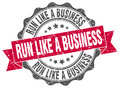 run like a business stamp