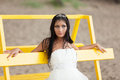Runaway bride Royalty Free Stock Photos