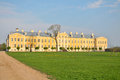 Rundale latvia rundales palace italian architect bartolomeo francesco rastrelli Stock Photo
