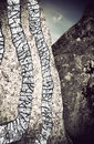 Rune stone Royalty Free Stock Photography