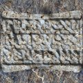 Runes in stone Royalty Free Stock Photo