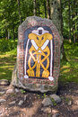 Runestone Royalty Free Stock Photos