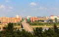 Rungna Bridge, Pyongyang Royalty Free Stock Photo