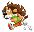 Runner Lion. Stock Image
