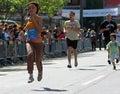 Runner on UNICEF Fun Run 2009 Royalty Free Stock Photo