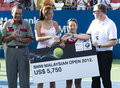 Runner Up Doubles BMW Malaysian Open Stock Images