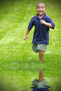 Running boy Royalty Free Stock Photography