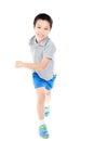 Running boy Royalty Free Stock Photo