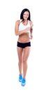Running fitness woman