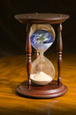 Running out time climate change eco apocalypse Royalty Free Stock Photo