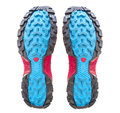 Running shoe soles isolated on white Royalty Free Stock Photo