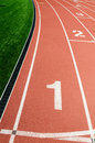 Running track Royalty Free Stock Photography