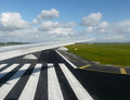 Runway view Royalty Free Stock Photo
