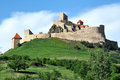 Rupea fortress romania a fortification in transylvania Stock Photos